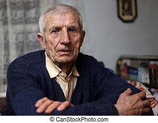 personne âgée homme