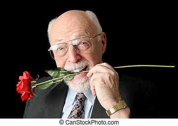 personne âgée homme, romeo