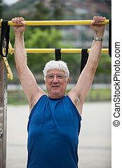 personne agee, activité physique