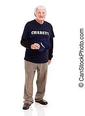 personne agee, ouvrier, charité