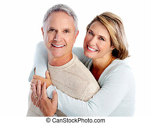 personne agee, portrait., couple