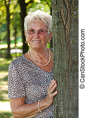 personne agee, (senior), femmes