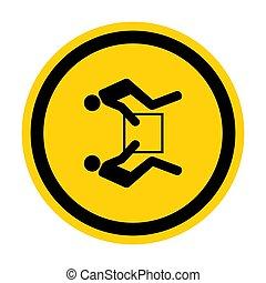 personne, fond, blanc, illustration, deux, signe, isoler, symbole, ascenseur, eps.10, usage