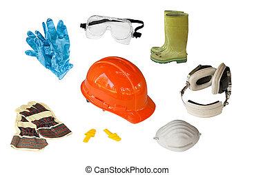 personnel, équipement, sécurité