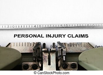 personnel, blessure, réclamation