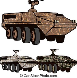 Personnel carrier Camo