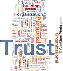 personnel, confiance, concept, fond