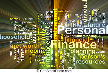 personnel, incandescent, concept, finance, fond