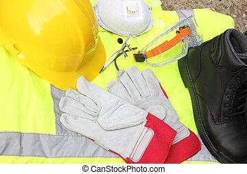 personnel, protection, équipement