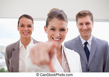 Personnel recruitment team