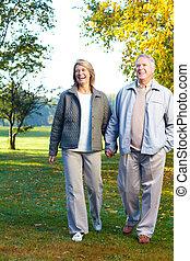 personnes agées, aînés, couple