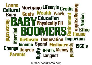 personnes nées baby boom