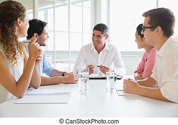 personnes réunion, conférence, business