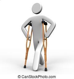 personwhowalkusingacrutch