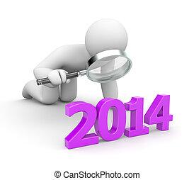 persoon, onderzoekt, jaarwisseling