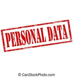 persoonlijk, data-stamp