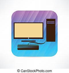 persoonlijke computer, pictogram
