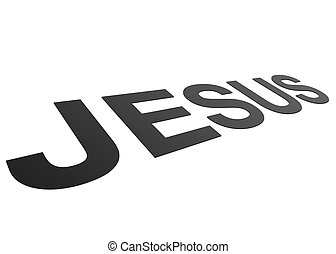 Perspective Jesus - High resolution perspective graphic of...