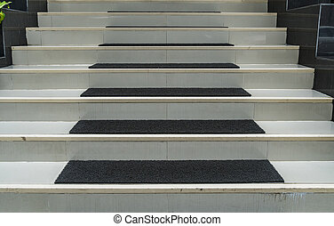 Perspective of Concrete staircase