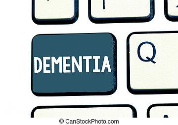 perte, photo, cognitif, texte, projection, maladie, signe, cerveau, mémoire, conceptuel, fonctionnement, affaiblissement, dementia.