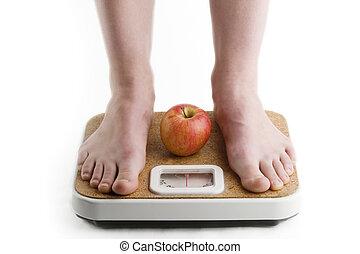 perte, poids