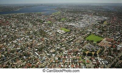 Perth aerial view