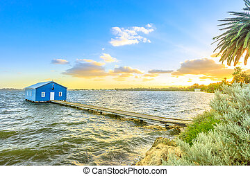 Perth Boat House - Blue Boat House: the iconic and most...