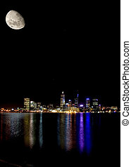 perth by moonlight