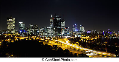 Perth by Night from King's Park