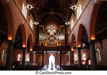 Perth cathedral - St. George's Anglican Cathedral in Perth, ...