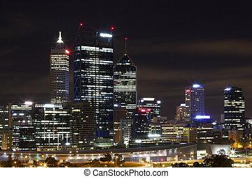Houston City Skyline Night