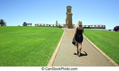 perth, guerre, fremantle, commémoratif, touriste