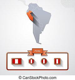 Peru info card