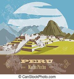 Peru infographics, statistical data, sights. Vector...