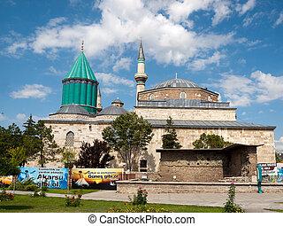 peru, konya, museu, mesquita, mevlana