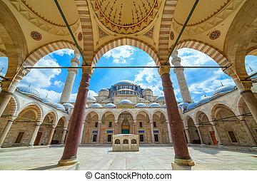 peru, mesquita suleymaniye, istambul