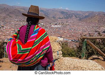 peruano, gente