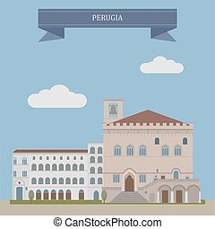 Perugia, city in Italy - Perugia, city of the region of...