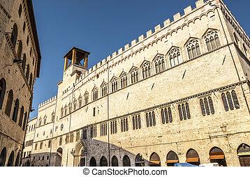 Perugia - Historic buildings