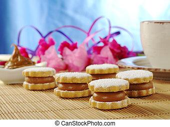 Peruvian Cookies Called Alfajor