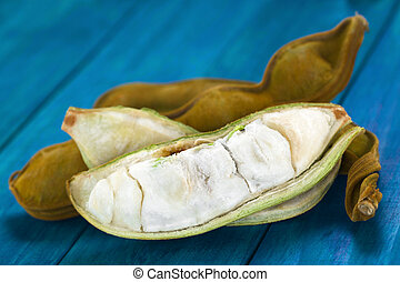 Peruvian Fruit Called Pacay - Peruvian fruit called Pacay (...