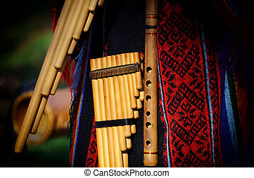 Peruvian pan flute