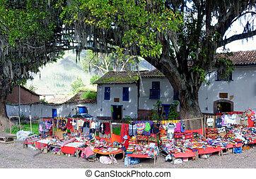 peruwiański, targ