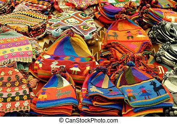 peruwiański, wełna