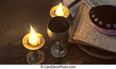 Pesach eve passover symbols of great Jewish holiday....