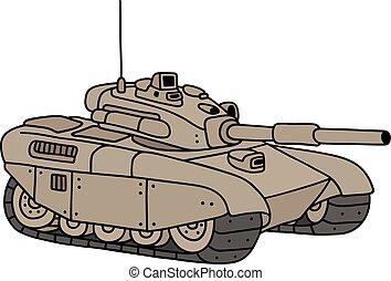 pesado, engraçado, tanque