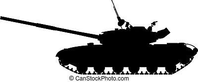 pesado, tanque