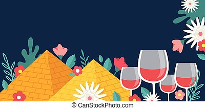 Pesah celebration concept , Jewish Passover holiday. Jewish ...