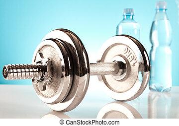 pesas, condición física