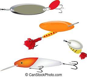 pesca del deporte, mosca, equipo